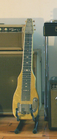 Lap steel Fender champion